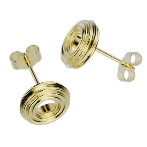 'Honey Bee'    Sterling silver Ear Droppers