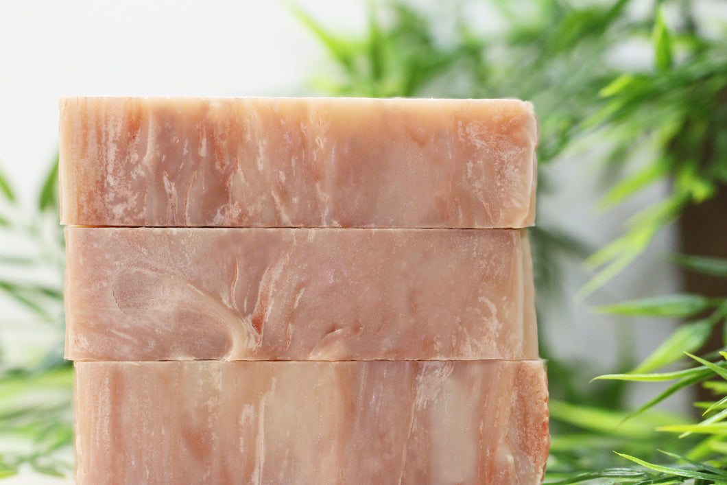 Cedar scented soap all natural