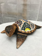 Decorative Wooden Turtle