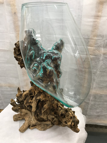 Glass/Root Vase (Large)