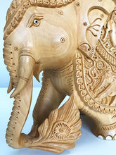 Carved Elephants (Large)