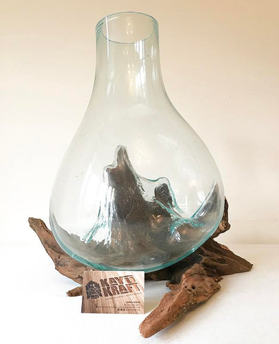 Root Glass Vase
