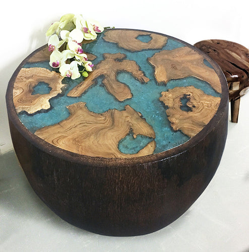 Globe Resin Table