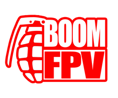 boom fpv logo red no background