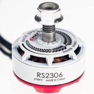4 PACK - EMAX RS2306 2550KV RACING SERIES BRUSHLESS MOTOR (WHITE)