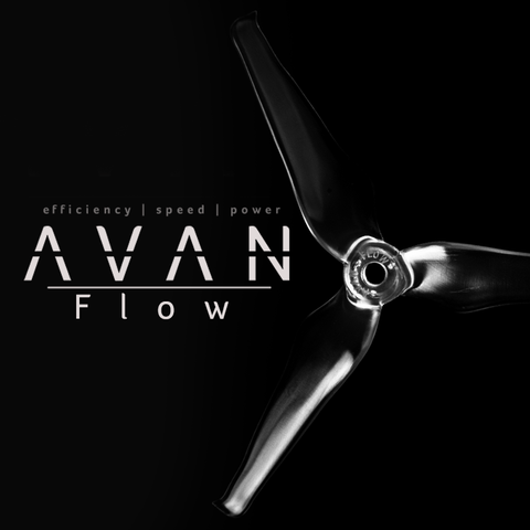 AVAN FLOW 5 inch PROP 5X4.3X3 FPV RACING PROPELLER - 1 SET
