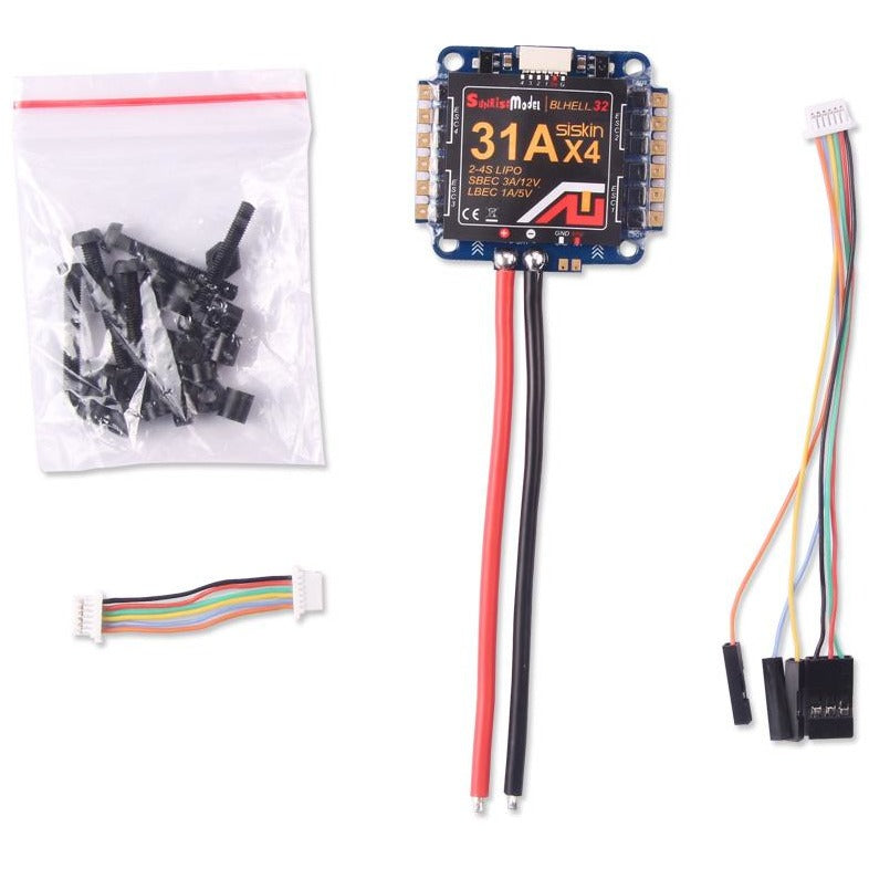 SUNRISE SISKIN ESC BLHELI-32 - 4 IN 1 - 31A
