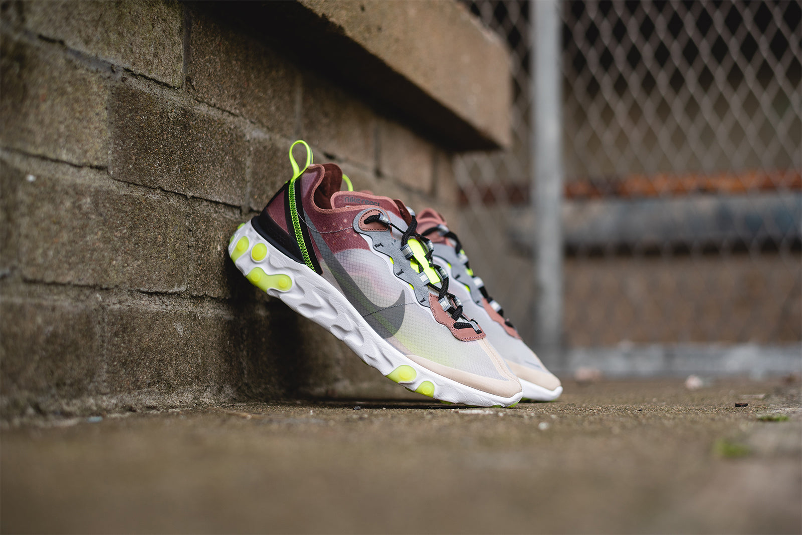f2722a4381fa Nike React Element 87. AQ1090-002. DESERT SAND COOL GREY-SMOKEY MAUVE  Price  £135.00. Launch  Thursday 16th of August ONLINE  08 00BST