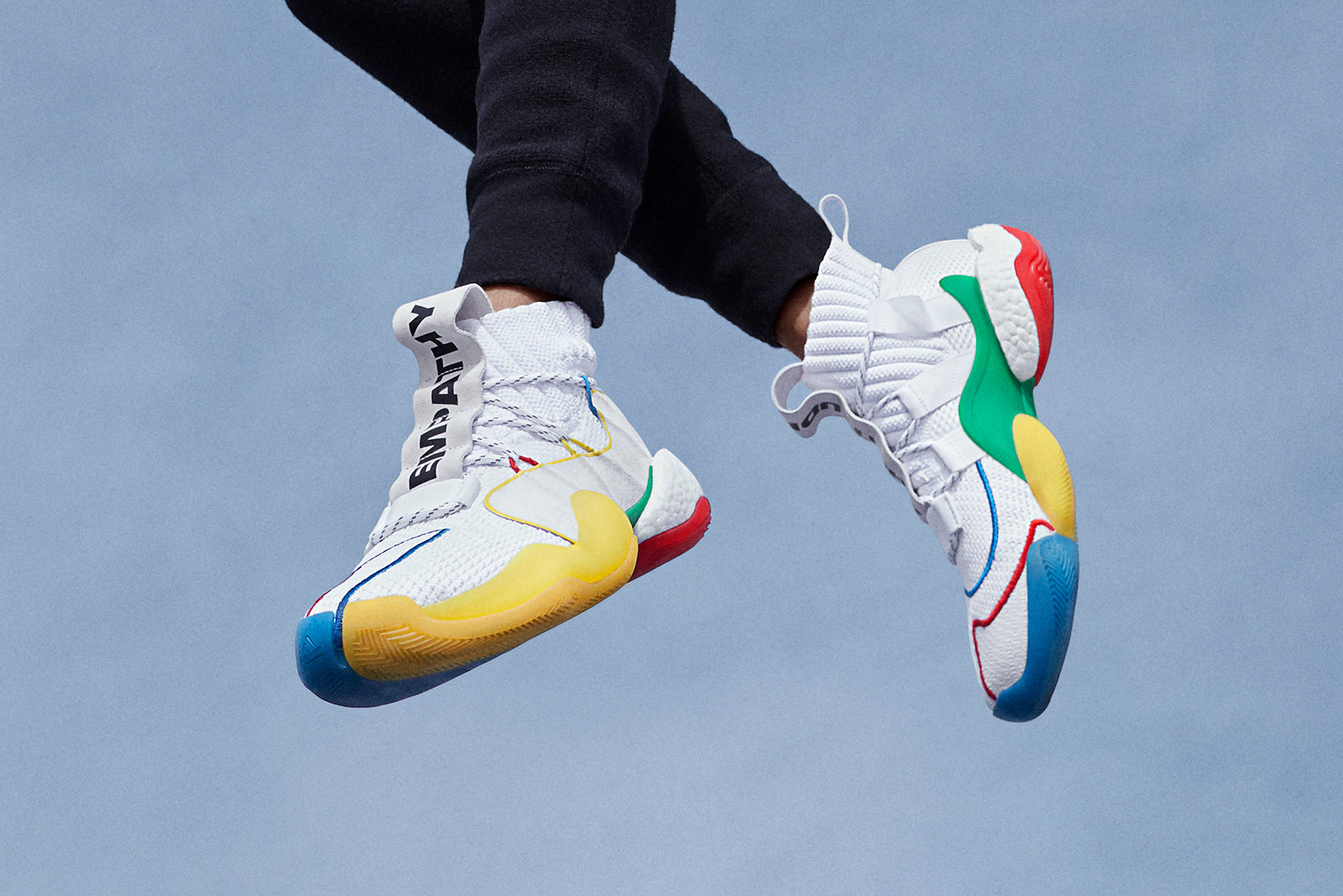 e690ea38e7ed7 adidas Crazy BYW LVL X PW x Pharrell Williams EF3500 Footwear White Multi  Price  £229.00