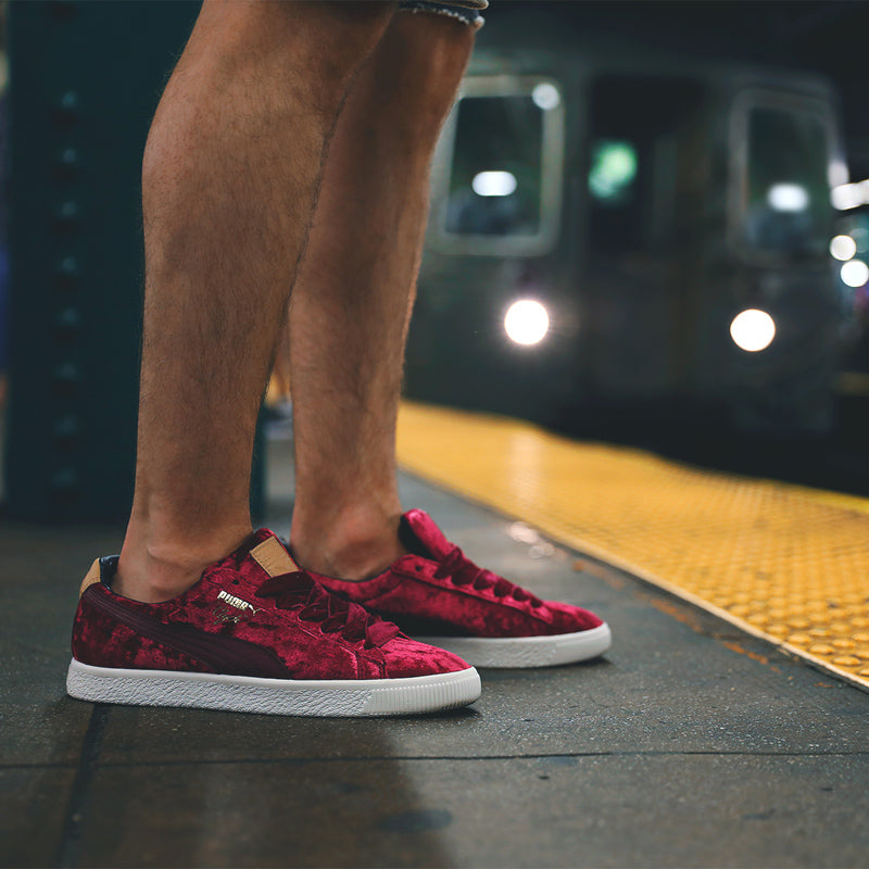 "aae6a1e8eed Puma Clyde x Extra Butter ""Kings of New York"" 362320-01. CABERNET-W-W.  Launch  Saturday 15th July 00 01BST"
