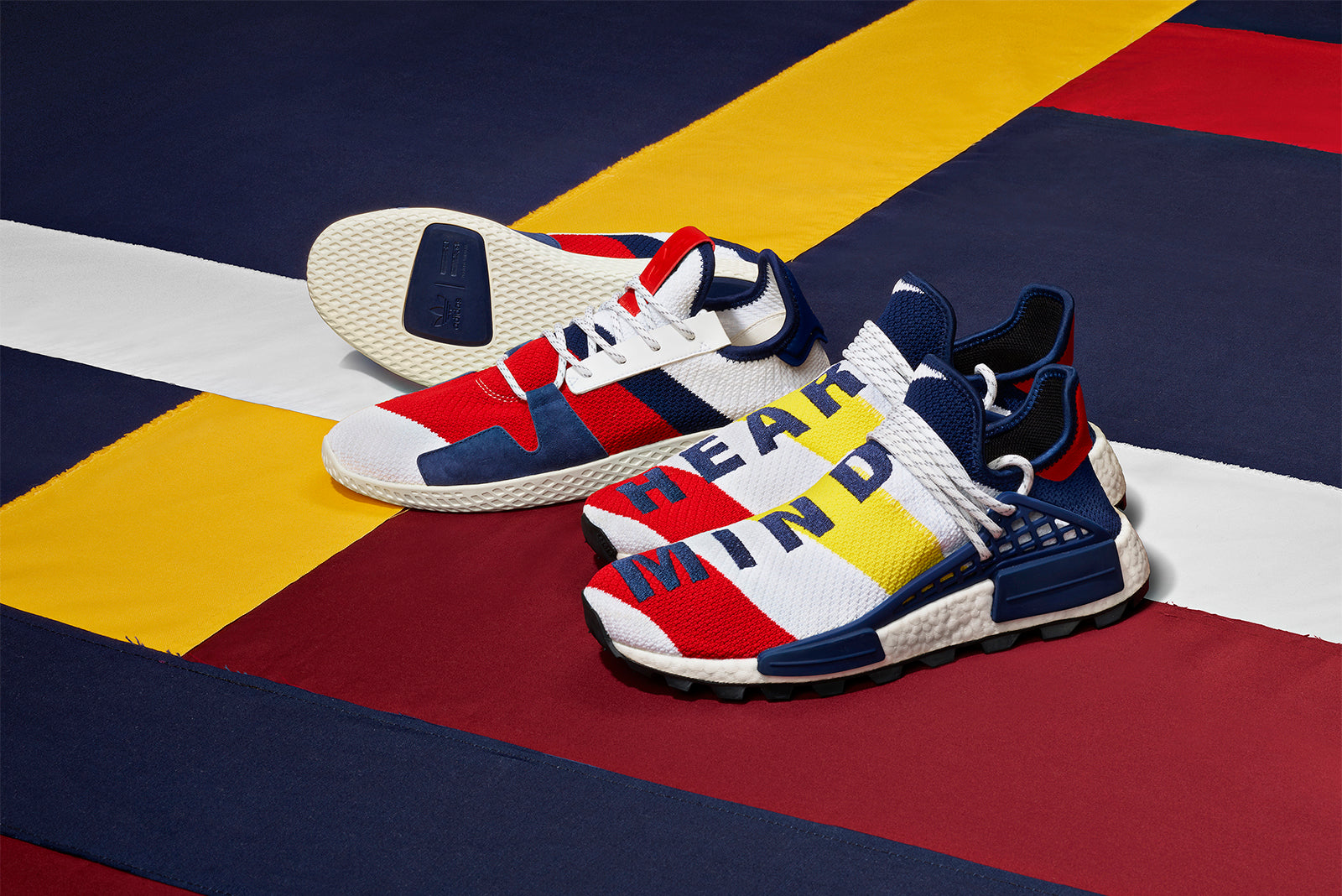 ec029d6e5 adidas Originals and Pharrell Williams continue their collaborative  partnership with the third instalment of the adidas Originals by  Billionaire Boys Club ...