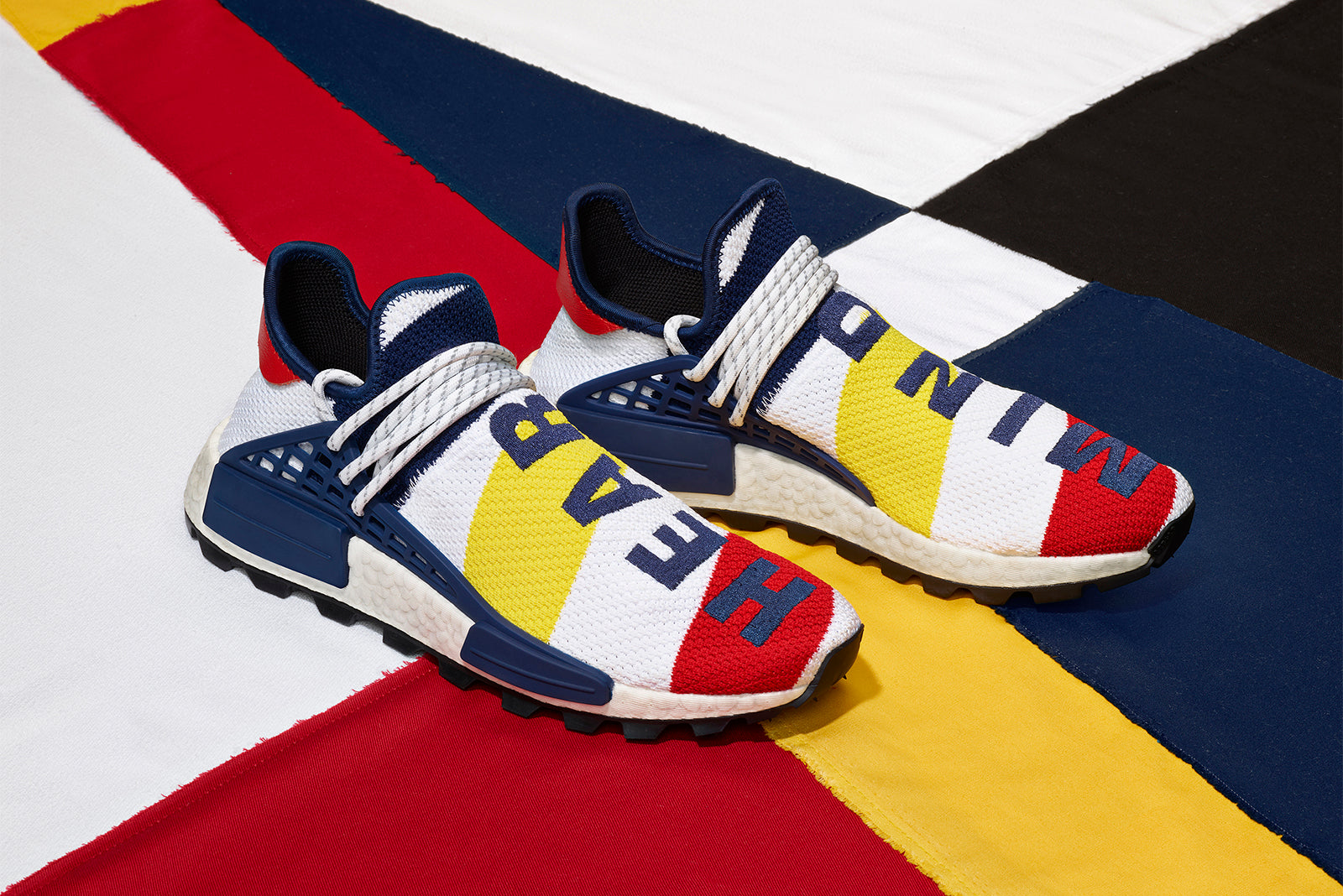 7da8ff603 adidas Originals HU NMD x Pharrell Williams x Billionaire Boys Club BB9544  Footwear White Scarlett Bright Yellow Price  £219.00