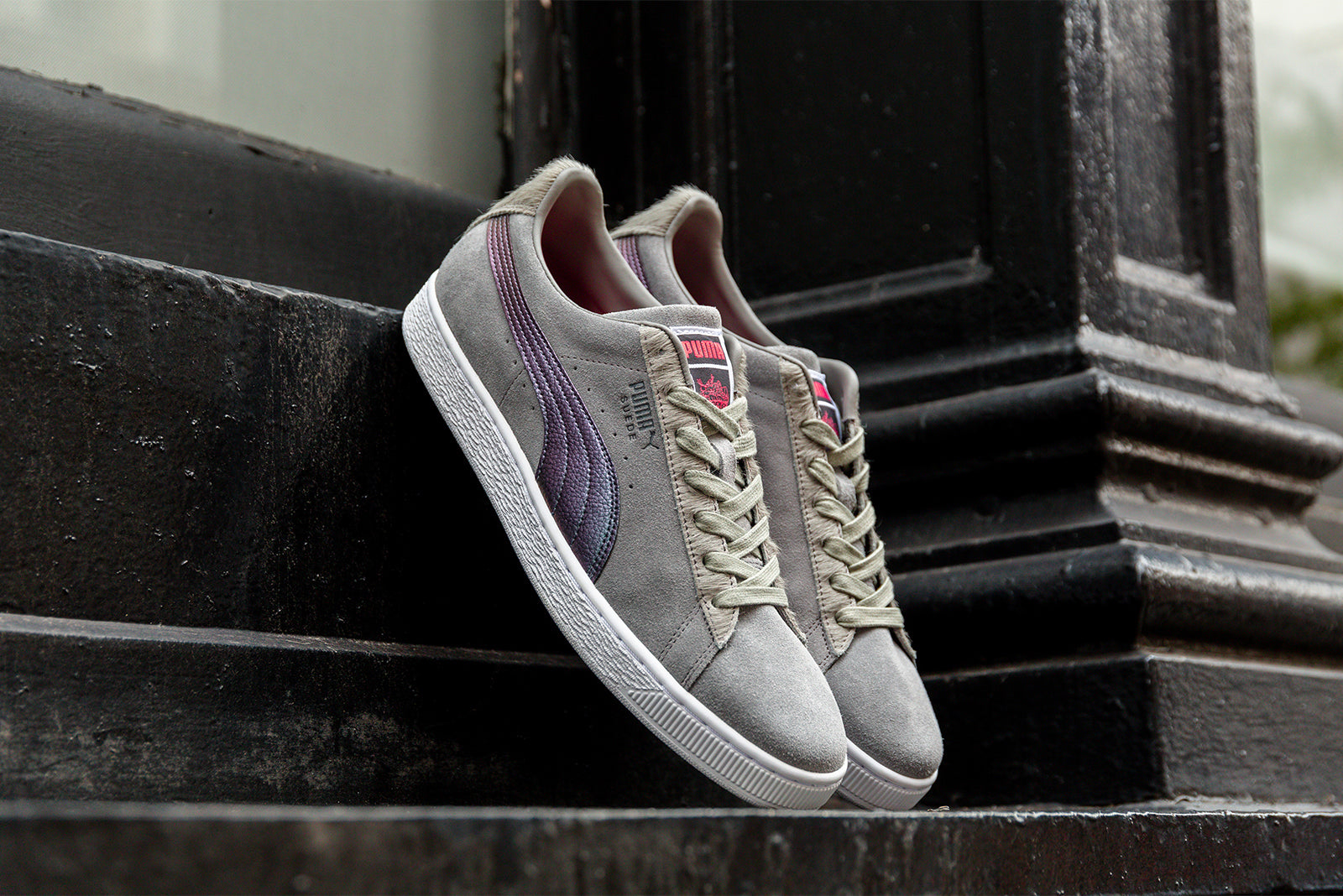 1dca39f07b57 PUMA Suede x Jeff Staple  Pigeon  366334-01. Frost Gray-Georgia Peach  Price  £95.00. Launch  Wednesday 7th November ONLINE  23 00GMT