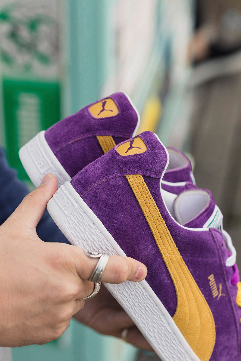 e5dd4827d12a Puma Suede Classic MIJ – The Collectors 366247-01. HELIOTROPE-SPECTRA  YELLOW Price  £175.00. Launch  Saturday 16th December 00 01GMT