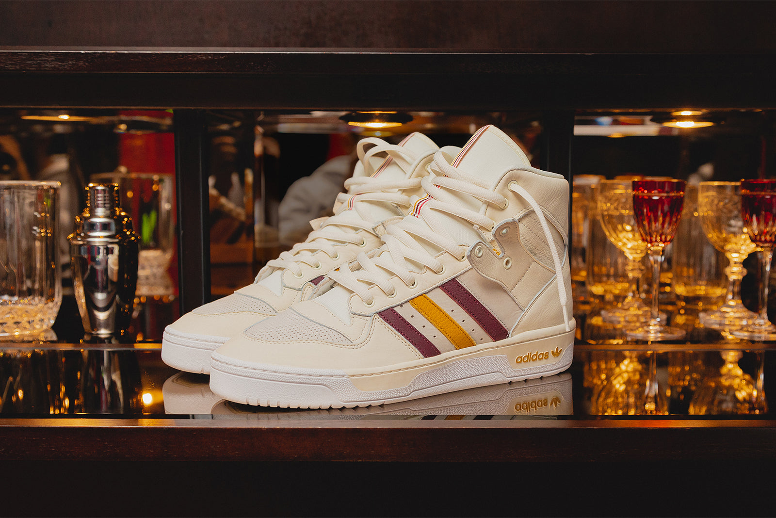 best website 5ff49 56fad adidas Orignals Rivalry Hi x Eric Emanuel G25836 Crystal WhiteNight Red  Price £159.00. Launch Friday 6th of December ONLINE 2300GMT