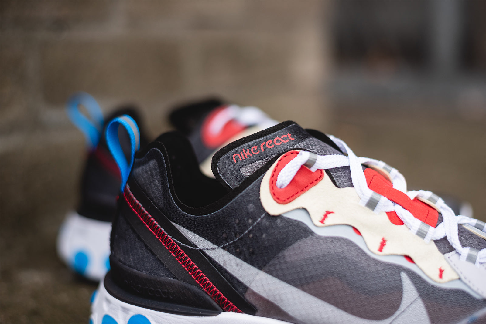 6b2fef95c913 Nike React Element 87. AQ1090-003. Dark Grey Pure Platinum-Photo Blue  Price  £135.00. Launch  Thursday 16th of August ONLINE  08 00BST