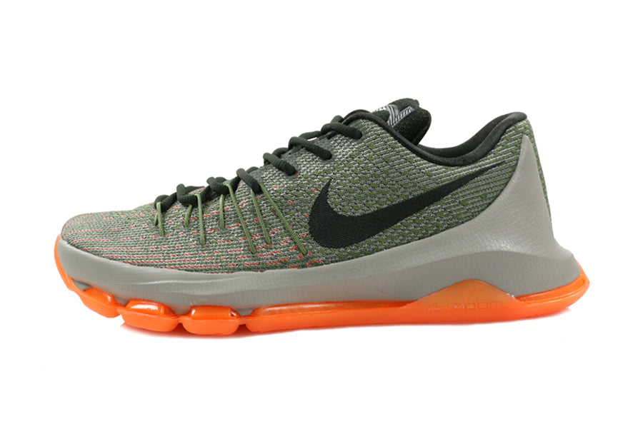"sports shoes 630d1 c9b5d The latest release from Kevin Durant s ""Easy Money"" series – the Nike KD 8  ""Easy Euro"". Featuring a flyknit upper and flywire lacing at the forefoot  in a ..."