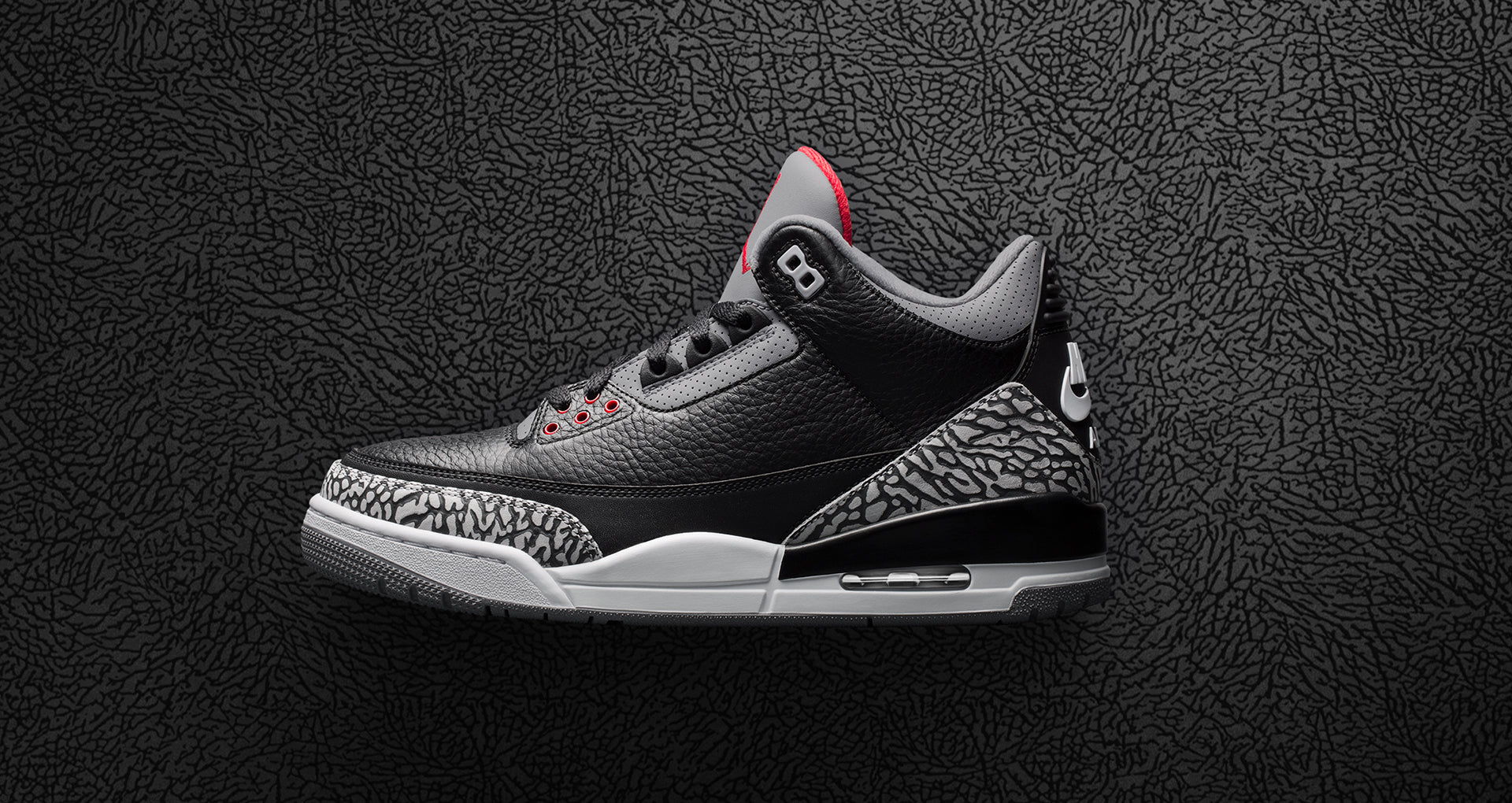 "on sale 3ad08 2c6c7 Nike Air Jordan III ""Black Cement"" – Hanon"