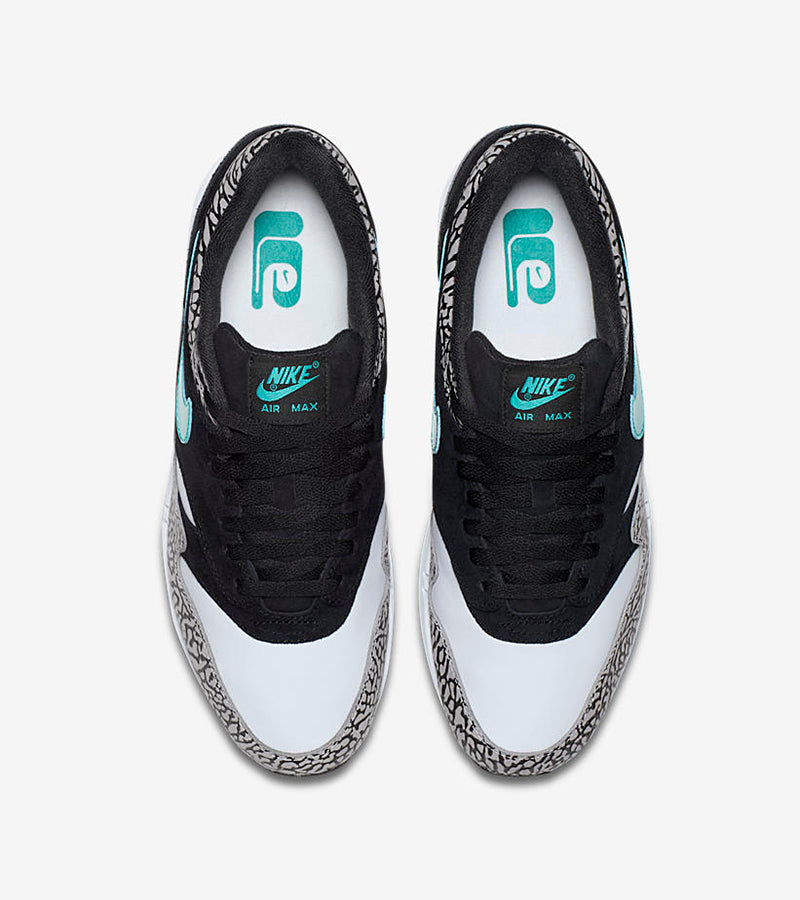 3cca86875c Nike Air Max 1 Premium Retro x Atmos 908366-001. MEDIUM GREY/CLEAR  JADE-BLACK-WHITE Launch: INSTORE RAFFLE* Thursday 16th March  17:00GMT-19:00GMT