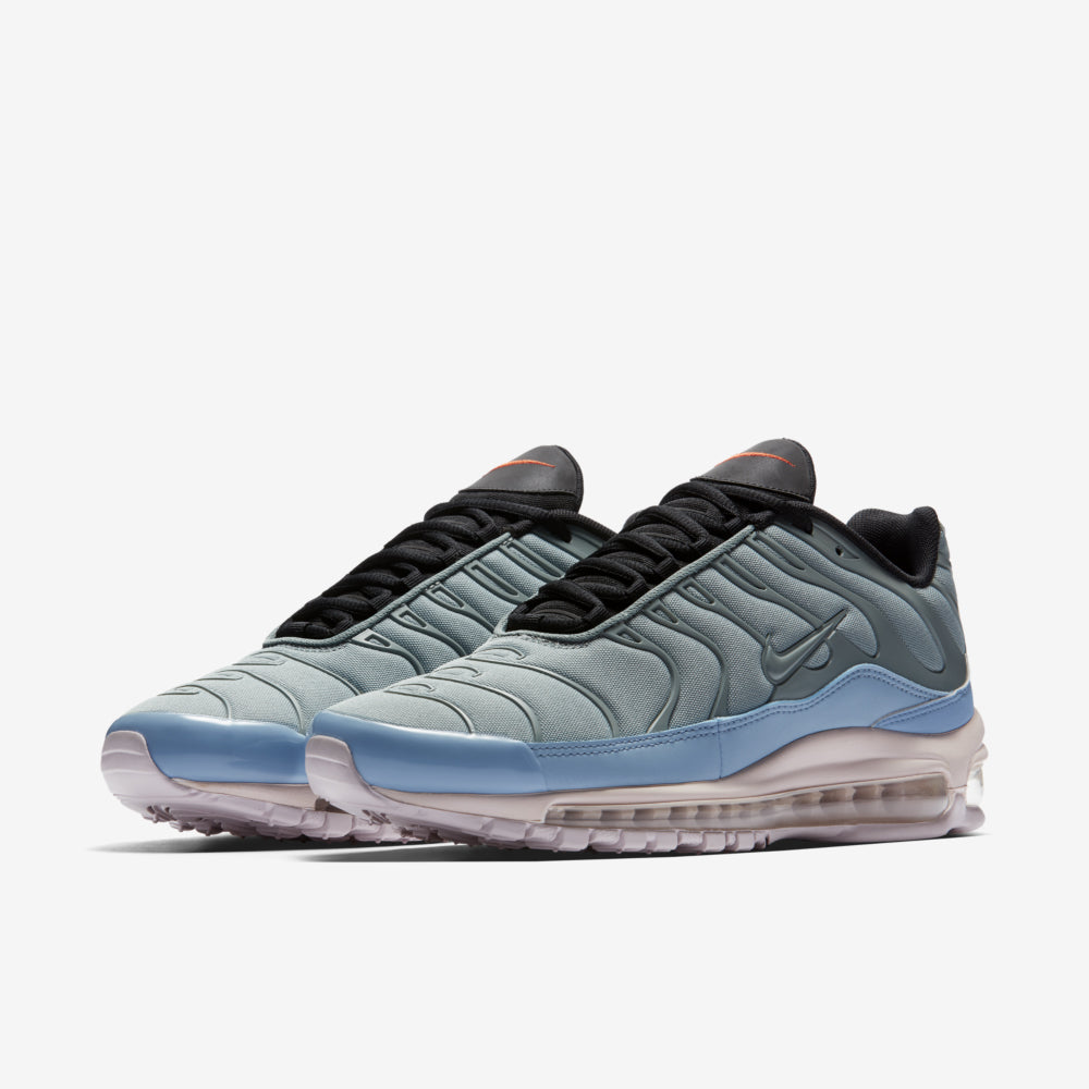 hot sale online bf0e5 e0535 Nike Air Max Plus   97. AH8143-300. MICA GREEN BARELY ROSE-LECHE BLUE-BLACK  Price  £139.00. Launch Saturday 10th February  ONLINE 08 00GMT and IN-STORE  10  ...
