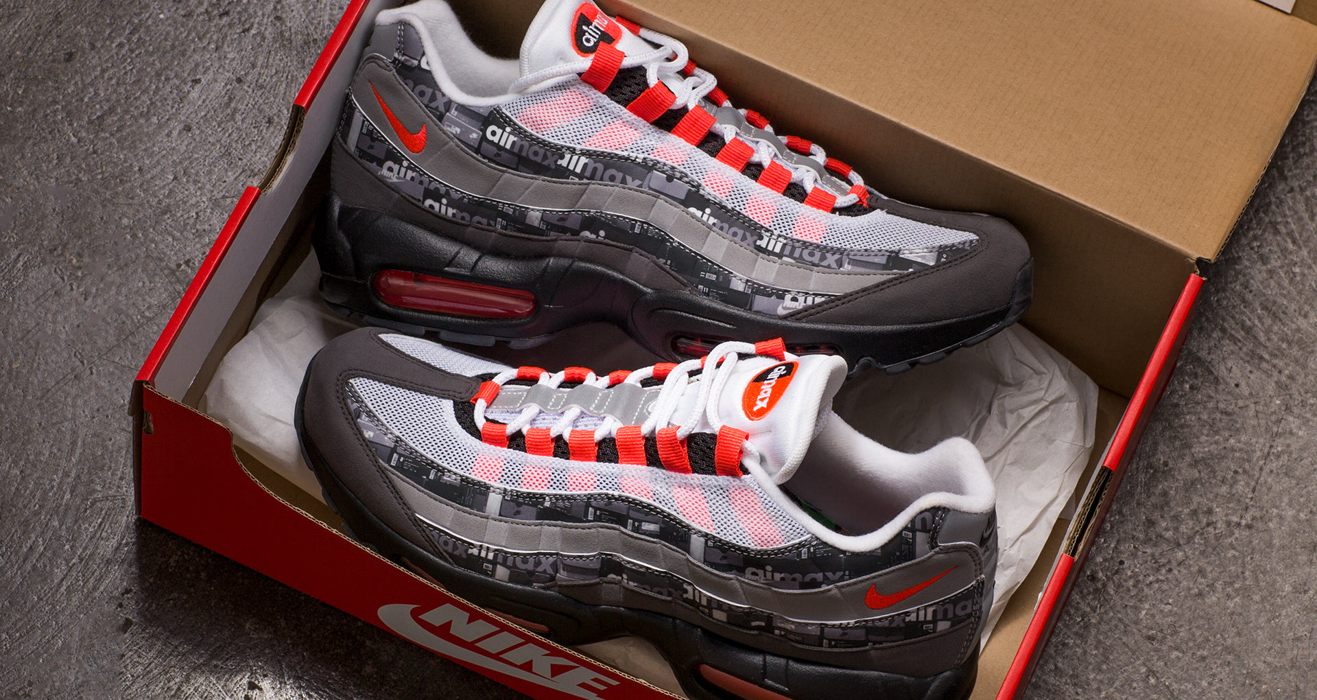 competitive price a01eb 40011 Nike Air Max 95 x Atmos