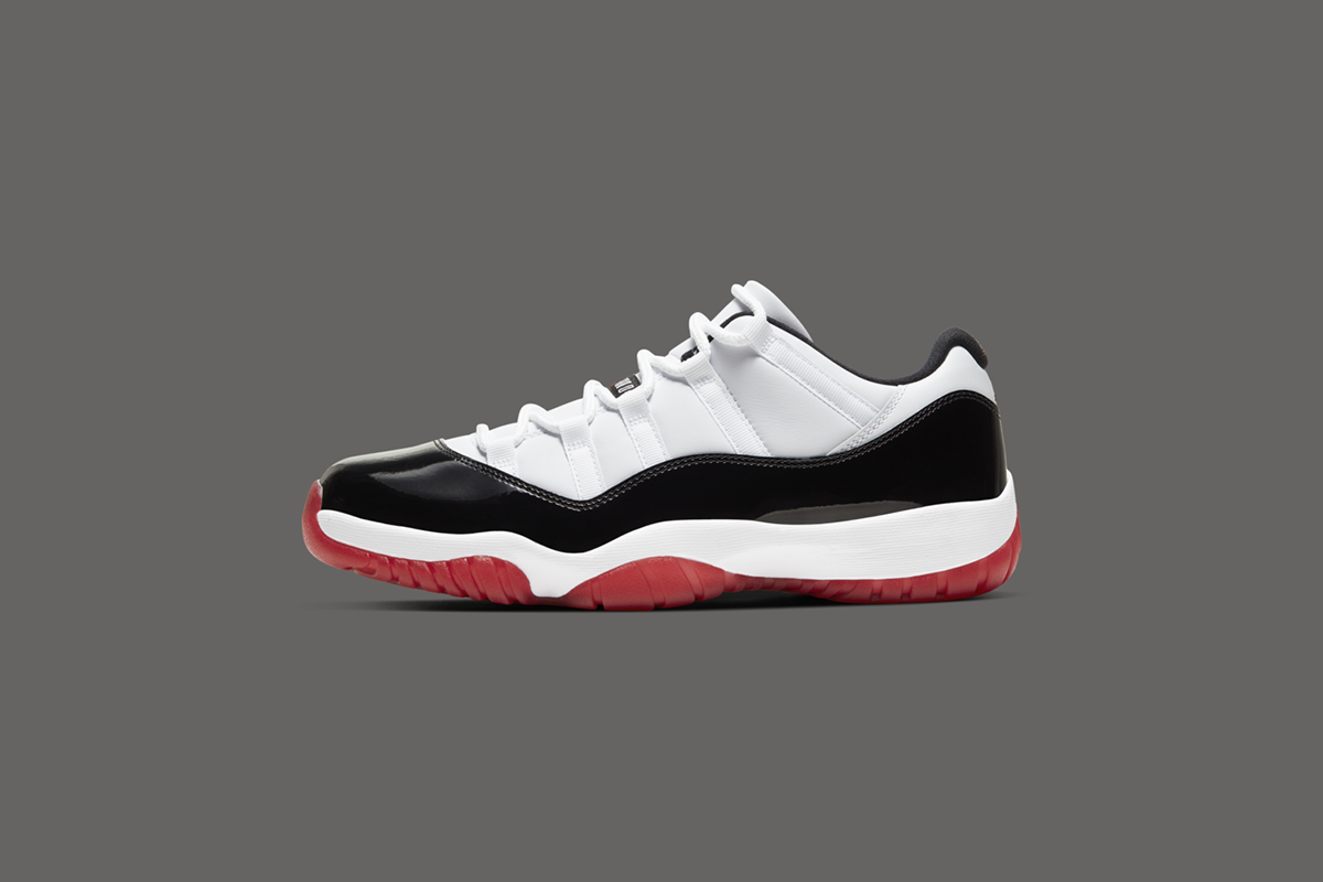 Launches Nike Air Jordan 11 Retro Low Gym Red Hanon
