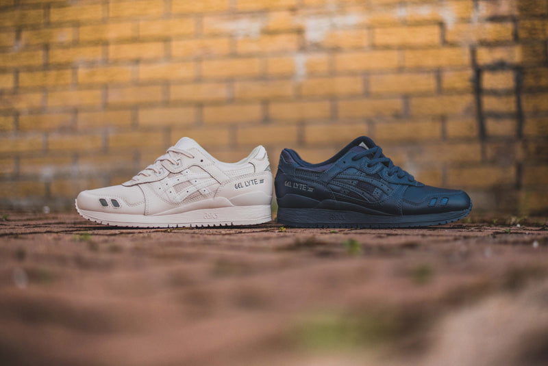"Asics Gel Lyte III ""Triple India Ink and Whisper Pink"" GROUP 02"