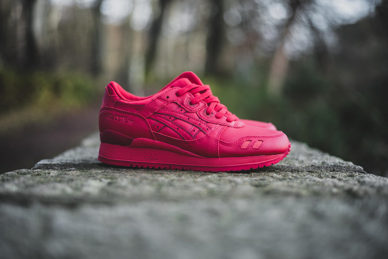 "Asics Gel-Lyte III ""Triple Red"""