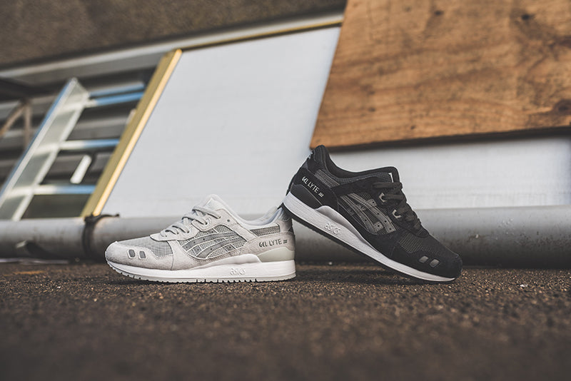 outlet store 2be8c 5447c usa asics gel lyte iii grey suede bed63 7a52f