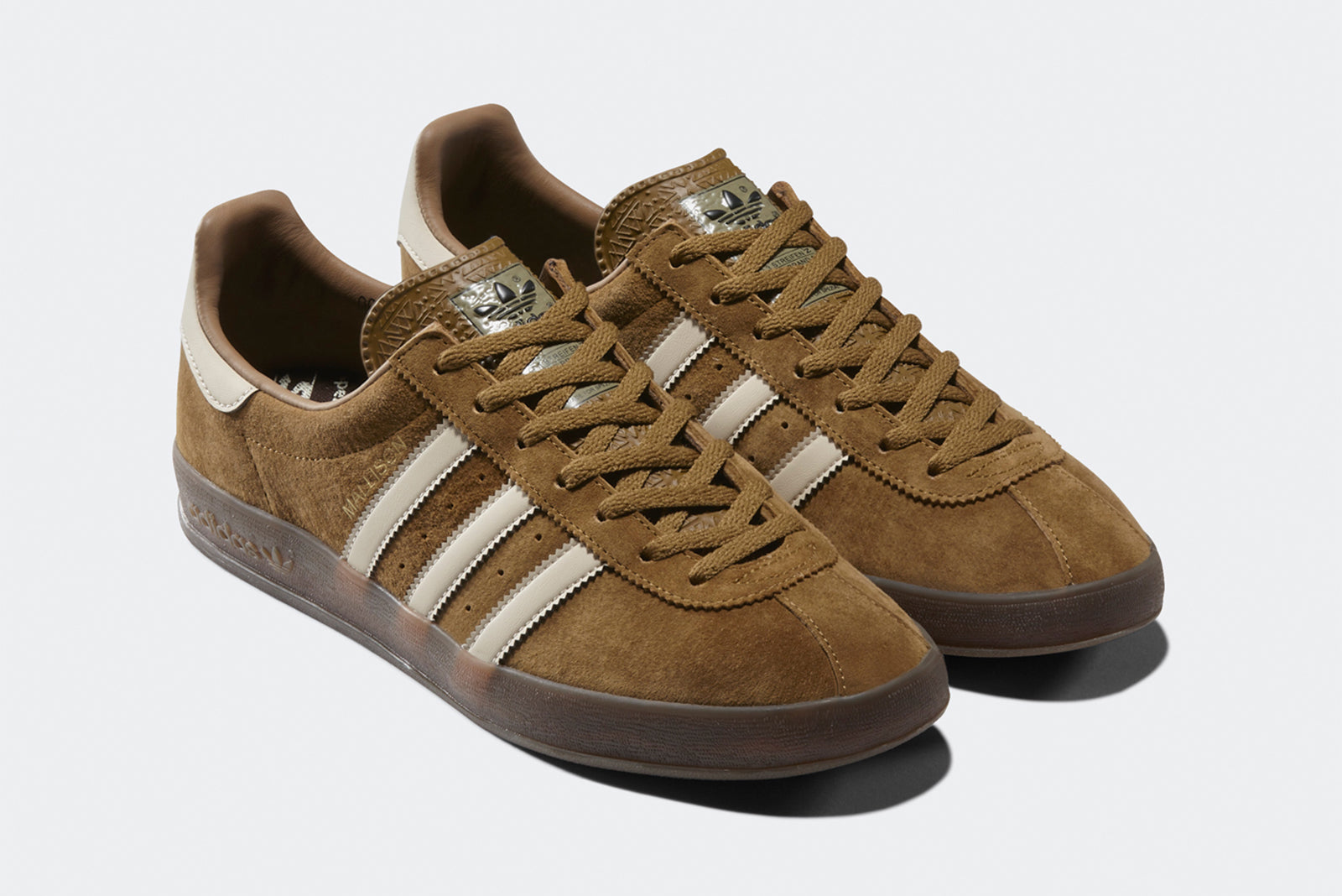 cheap for discount 0c640 6c4ab adidas Mallison SPZL B41824 Brown Chalk Brown Price  £99.00. Launch   Thursday 20th of September ONLINE  23 00BST