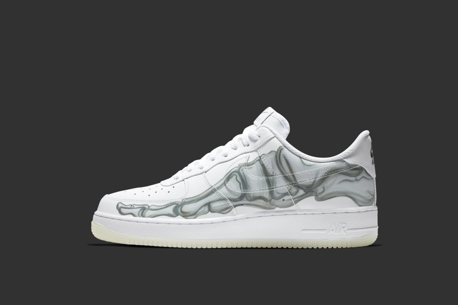 new concept 0b870 9eb37 Nike Air Force 1 07 Skeleton QS BQ7541-100. WhiteWhite Price £85.00.  Launch TBC