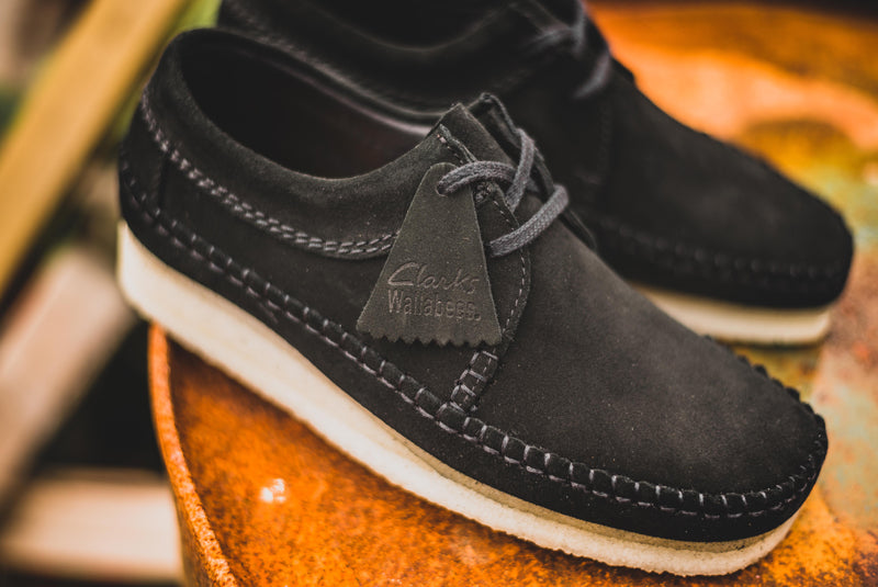 """classic chic well known thoughts on Clarks Weaver """"Black Suede"""" – Hanon"""