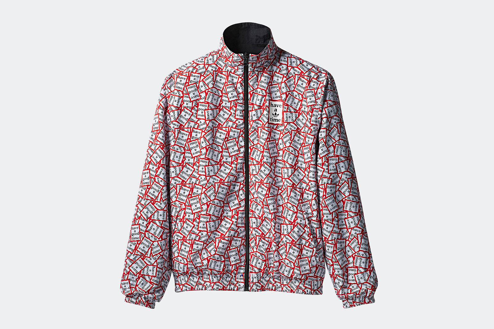 adidas Originals x Have A Good Time Reversible Track Top BlackWhiteRed DP7444