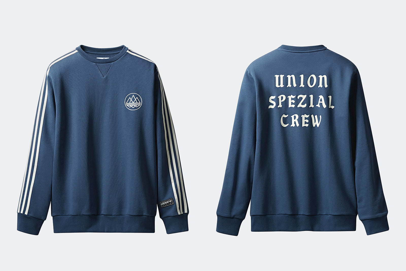 653cfa6eb0e8e adidas Crew SPZL x UNION LA DQ0112 Dark Blue Price  £109.00. Launch   Thursday 25th of October ONLINE  23 00BST adidas Bucket Hat SPZL x UNION LA  DQ0115