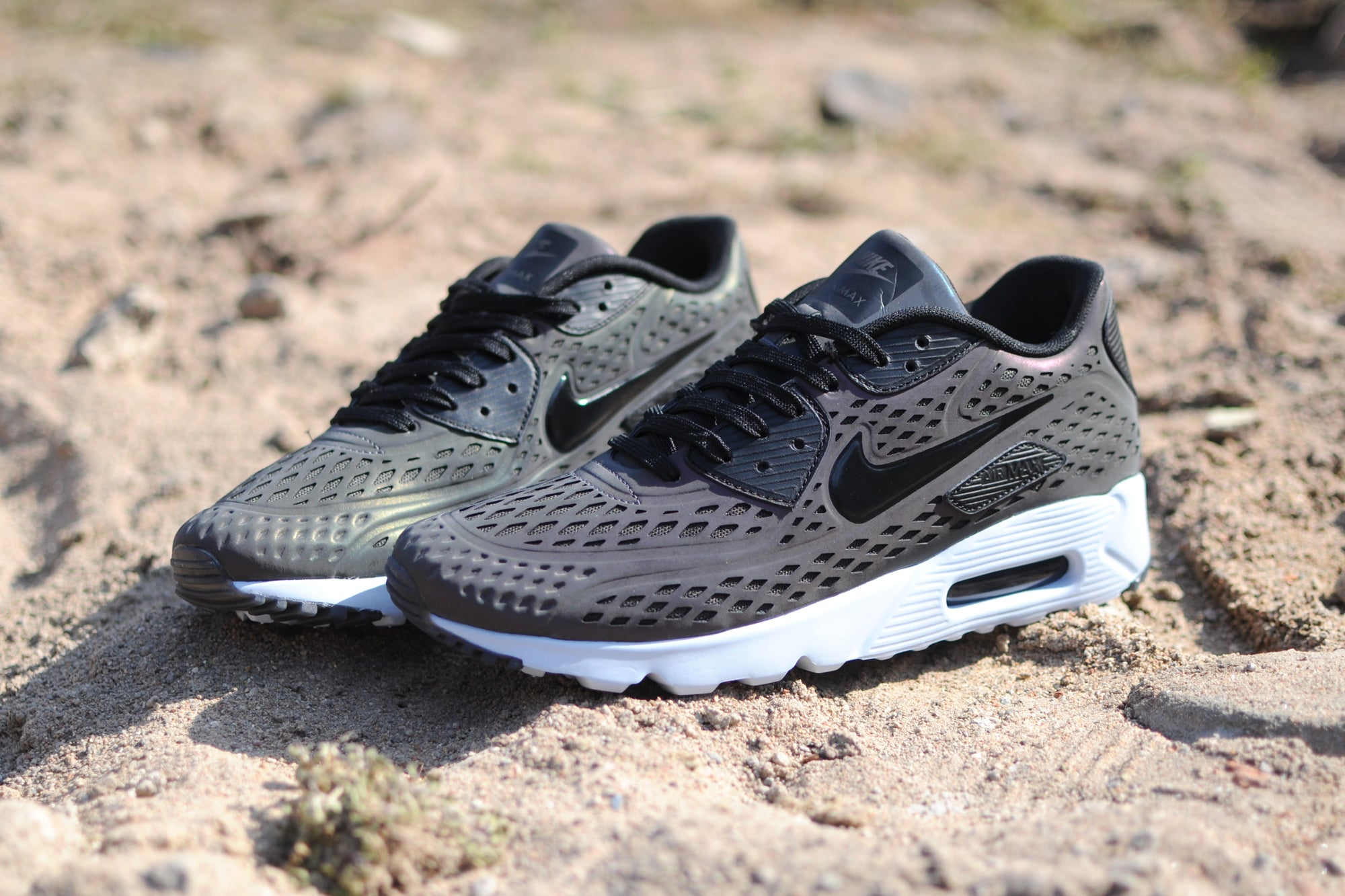 "Air Max 90 Ultra Moire Iridescent nike air max ""iridescent"" pack – hanon"