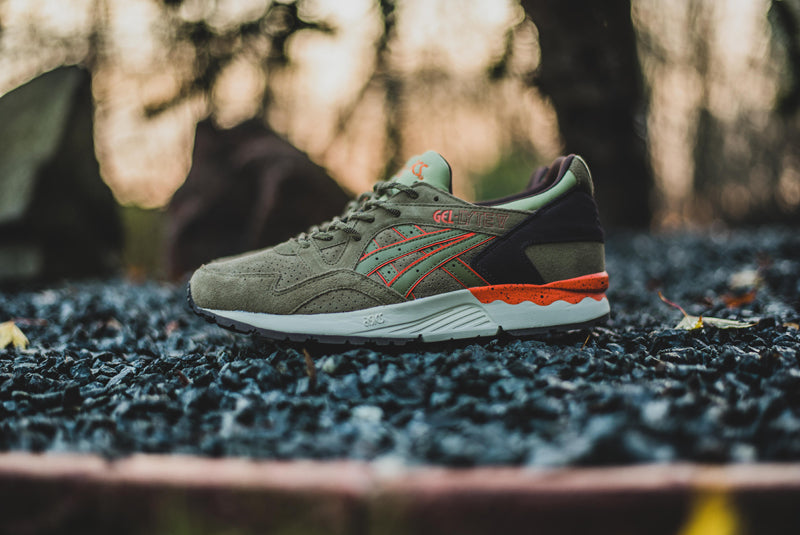 asics gel lyte v light olive