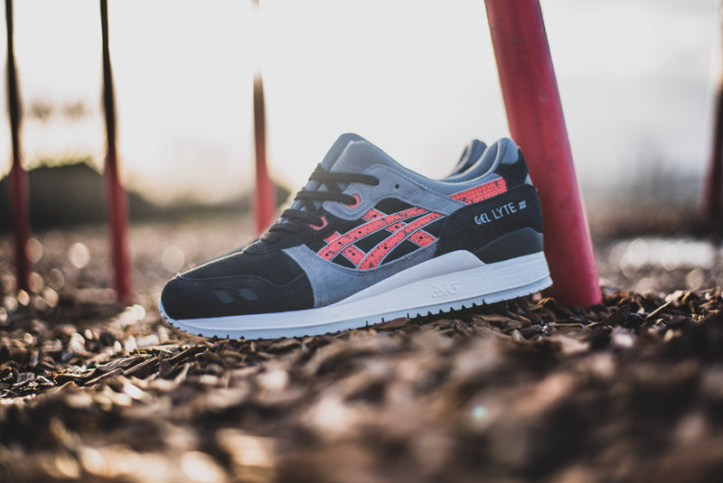 """b081868a34fe Asics Gel Lyte III """"Granite"""" NY H6B2L-5001. INDIAN INK WHITE Available Now"""