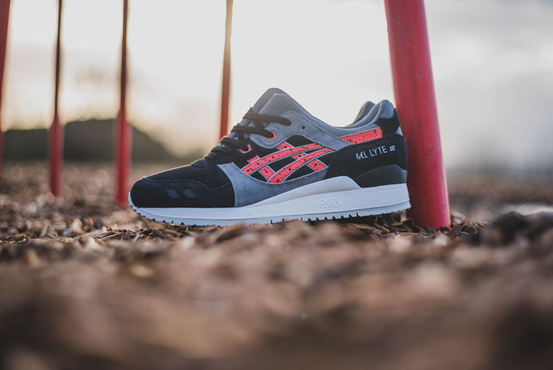 """bef1b58b20f2 Asics Gel Lyte III """"Granite"""" BK H6B2L-9024. BLACK CHILI Available Now"""