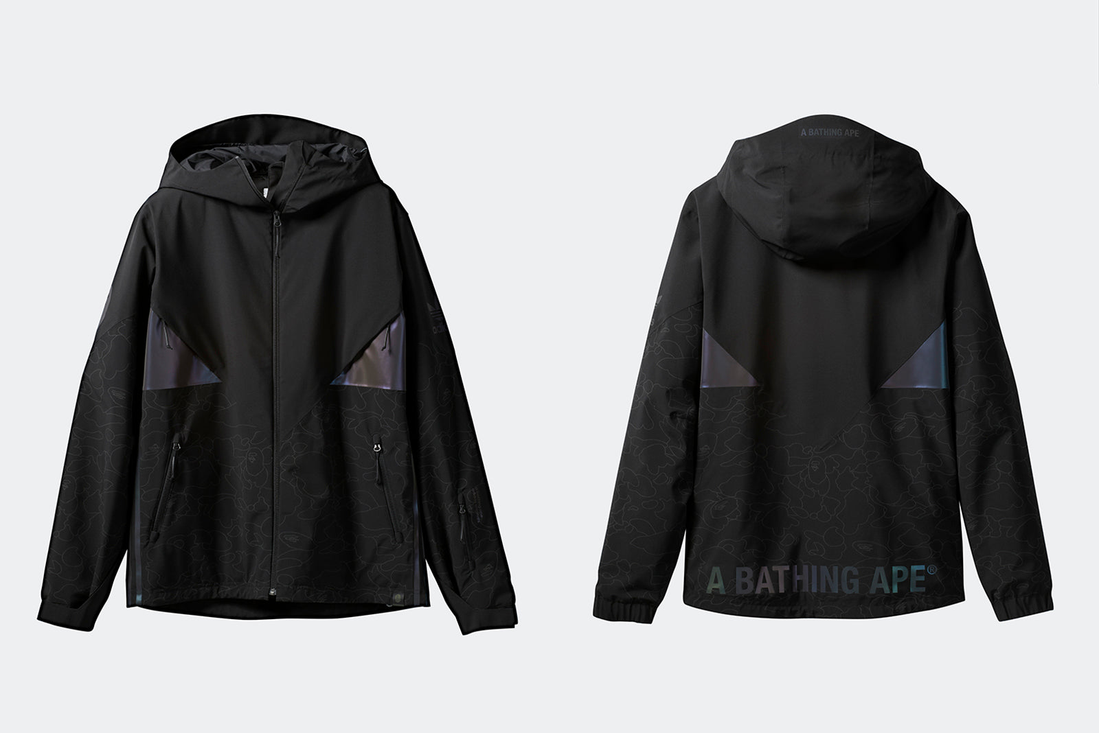 832946b5a91 adidas Snowboarding Jacket by BAPE DU0202 Black Price: £499.00. Launch:  Friday 2nd of November ONLINE; 23:00GMT