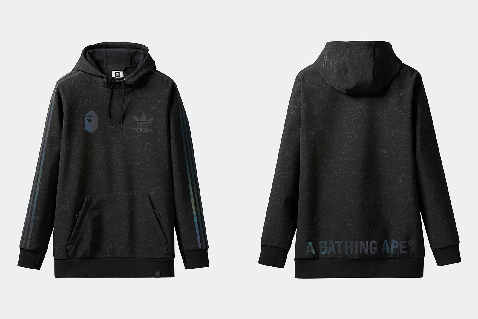 67c66650485d adidas Tech Hooded Sweatshirt by BAPE DU0206 Black Price  £109.00. Launch   Friday 2nd of November ONLINE  23 00GMT