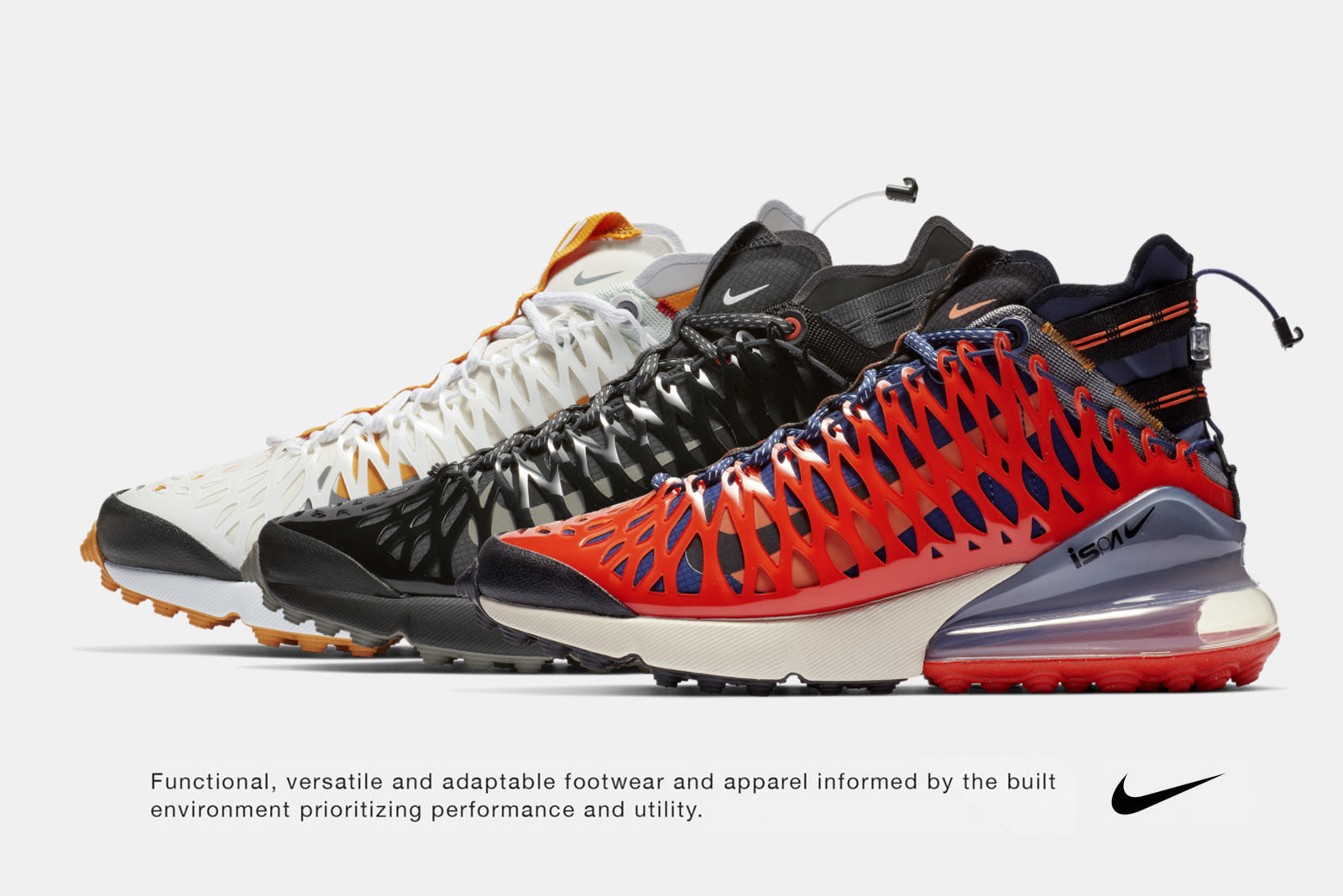 online store bc402 5378b Nike s forward thinking ISPA program makes a welcome return this January,  enlisting the Air Max 270. The lifestyle silhouette gains some serious tech  ...