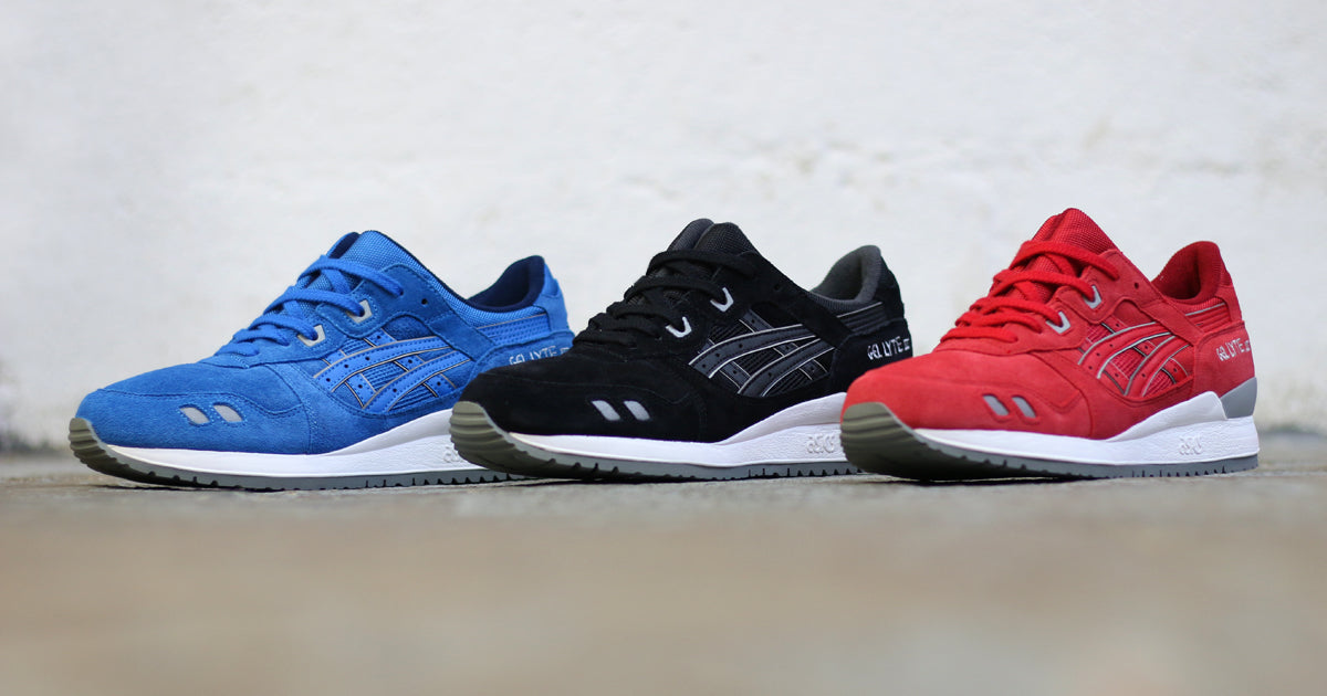 "new arrival 41b41 5bf5c ASICS Gel Lyte III ""Puddle"" Pack – Hanon"