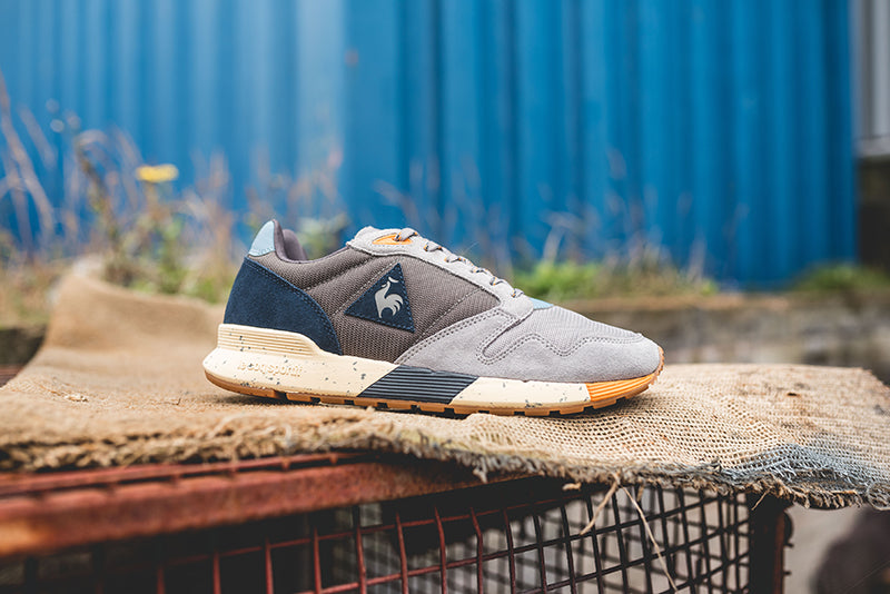 "0a25802a7e49 Le Coq Sportif Omega X ""Textile Pack"" 1720314. DARK GULL GRAY FROST  GRAY DRESS BLUE"