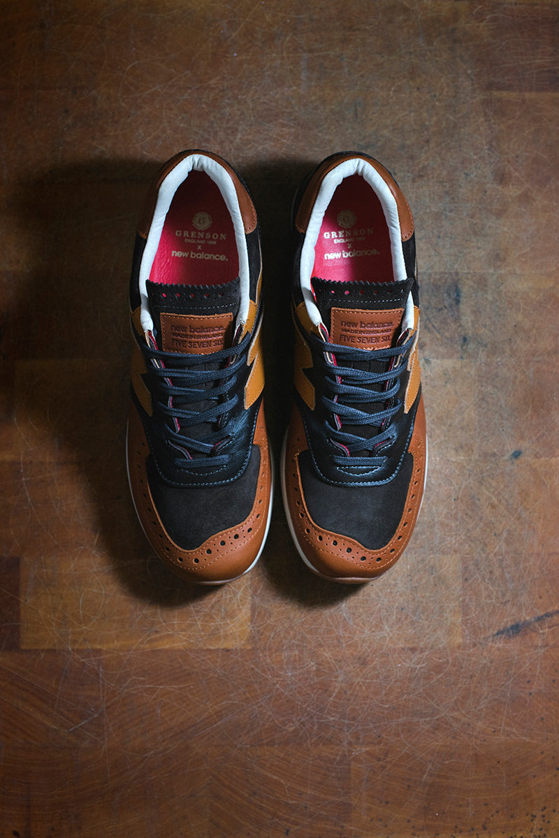 "official photos 1fcb8 14945 New Balance x Grenson ""Phase Two"" – Hanon"