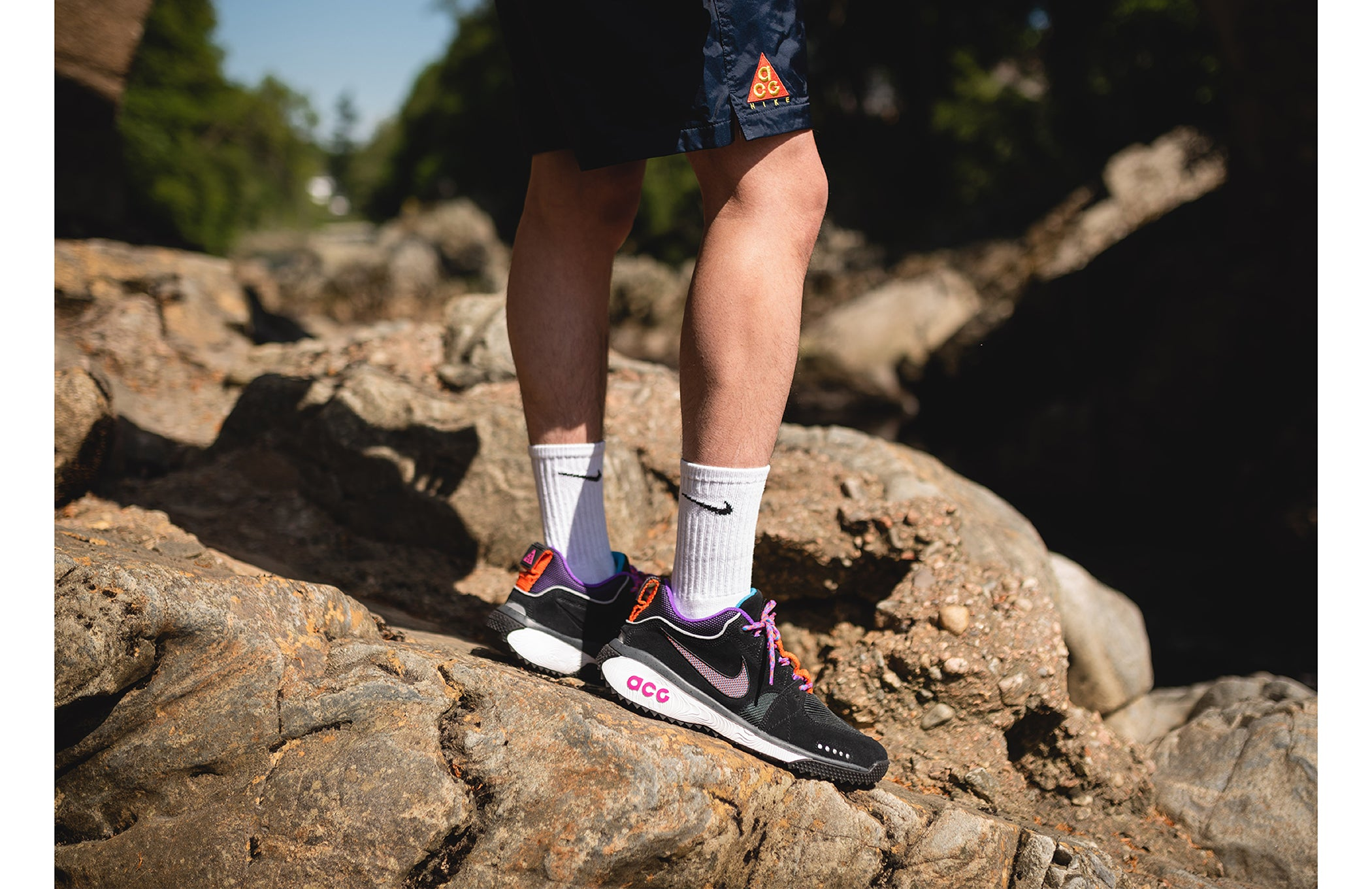 info for 72734 b9a28 The apparel portion of the collection is formed with a range of garments  all adoring the famous Nike All Conditions Gear logo. Like the footwear  the ACG ...