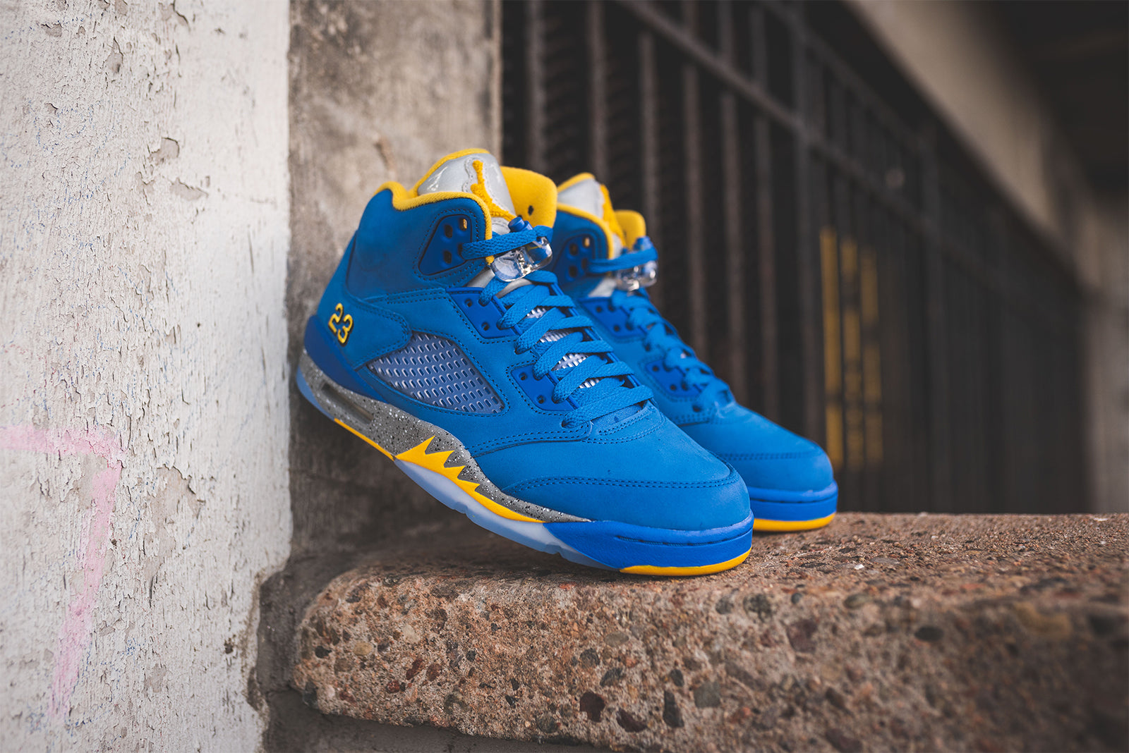 innovative design 6a62e 9108f Nike Air Jordan 5  Laney  – Hanon