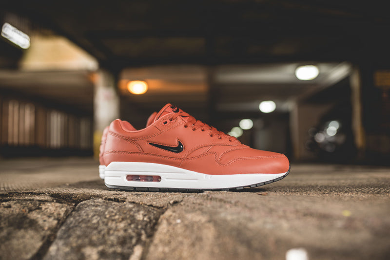 2697e803e3 Nike Air Max 1 Premium SC Jewel 918354-200. DUSTY PEACH/BLACK-WHITE-BLACK  Launch: Thursday 24th August 08:00BST