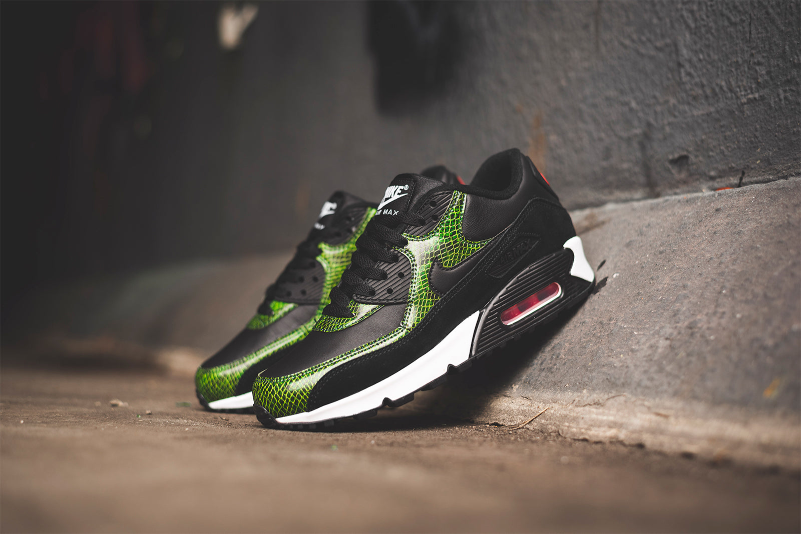 9cb6d127d7 Ever since its drop in 2002, 'Python' has remained one of the most iconic Air  Max 90 colourways to this day. The introduction of a snakeskin pattern and  ...
