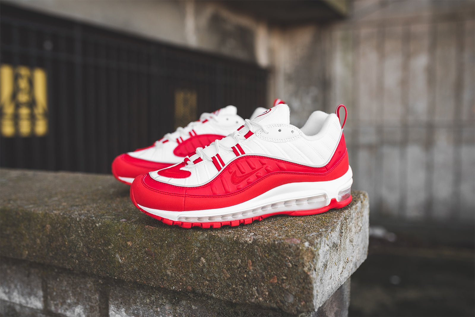 sports shoes a11d4 de8c9 Nike Air Max 98 640744-602. University Red   University Red   White Price   £145.00. Launch  Friday 25th of January ONLINE  08 00GMT