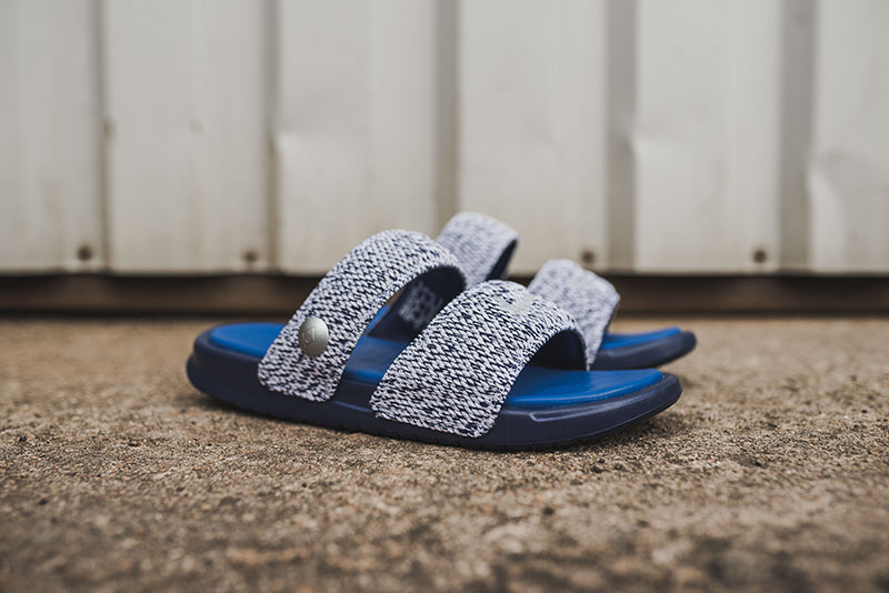 8b572cf4c2f6 NikeLab Benassi Duo Ultra Slide x Pigalle 902783-400. LOYAL BLUE GAME  ROYAL-WHITE